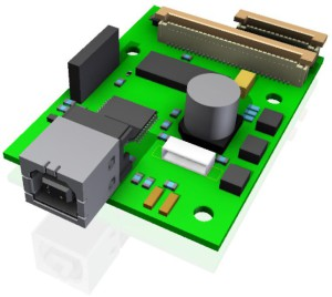 Keyboard-Trackball Encoder card